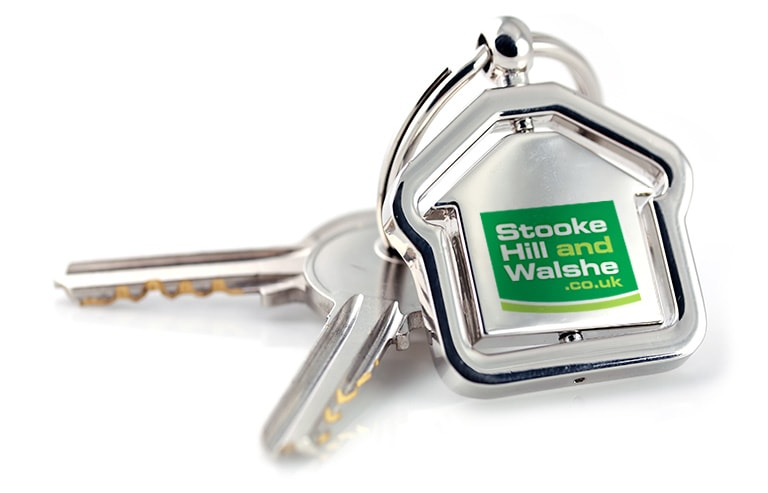 Key ring with logo